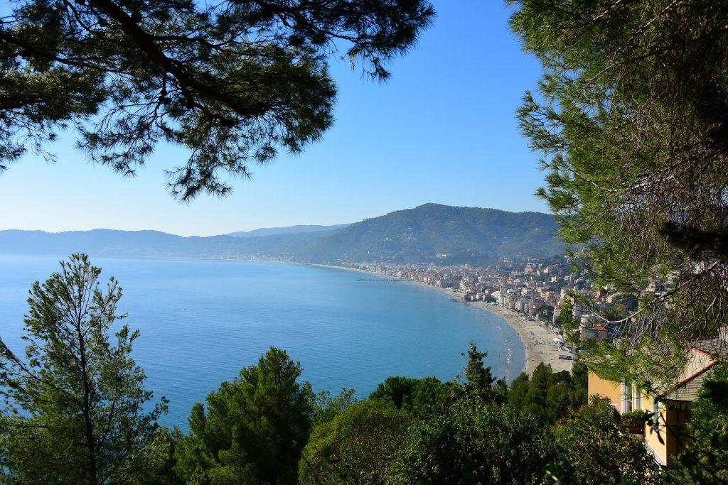 Vakantie bloemenrivièra /Ligurië, Italië