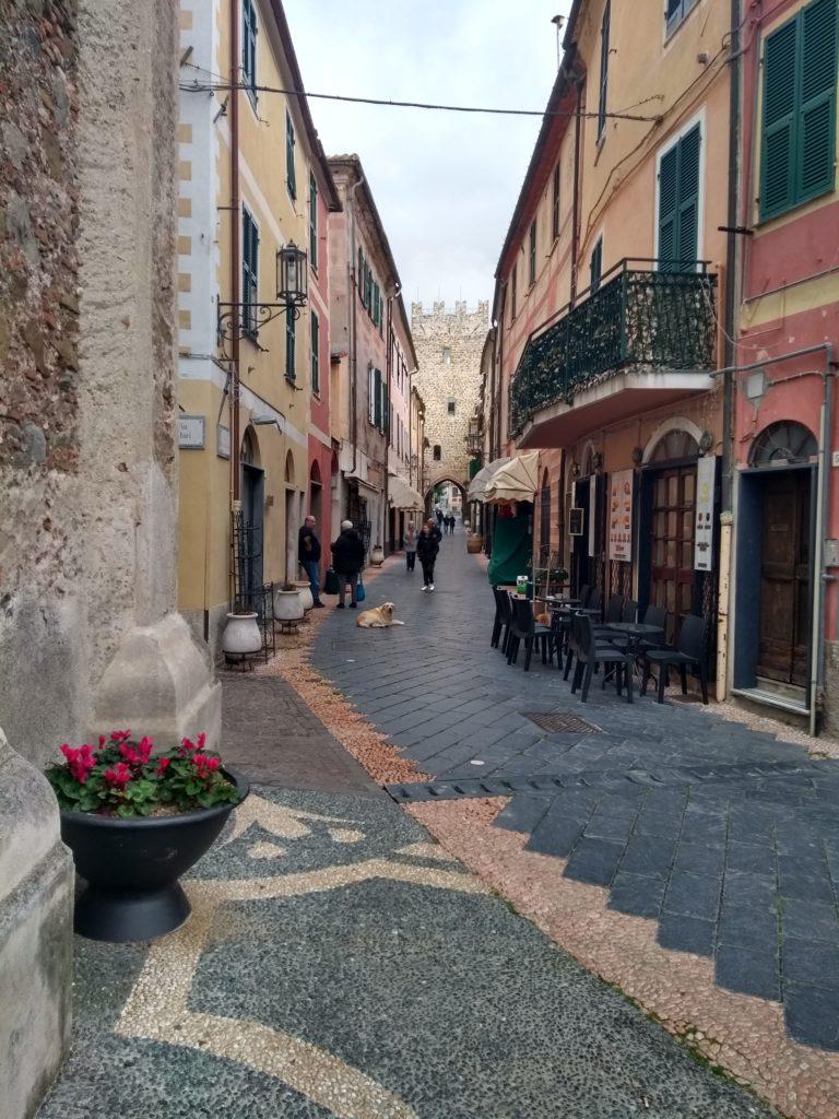 kustplaatje Italiaanse Rivièra