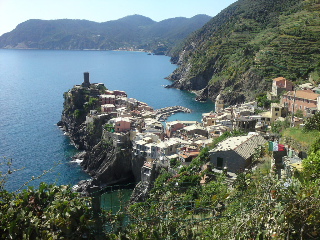 kamperen Cinque Terre, Ligurië, Italië, vakantie campings, Riviera di Levante