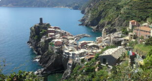 kamperen Cinque Terre, Ligurië, Italië